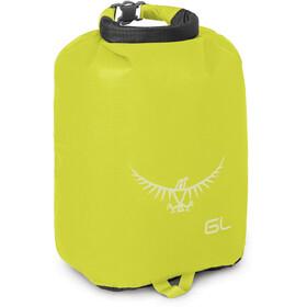 Osprey Ultralight Drysack 6 L electric lime